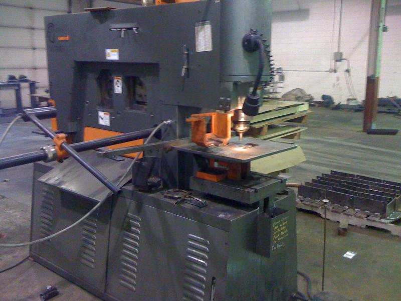 110 ton punch press